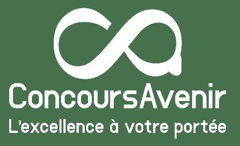 concours avenir logo blanc